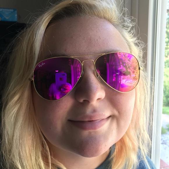 5abe8d4ee4e Ray-Ban pink mirror aviator sunglasses sunnies. M 5b369da3c9bf50a42f25b76b
